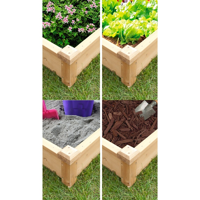 Merry Products Raised Flower Bed