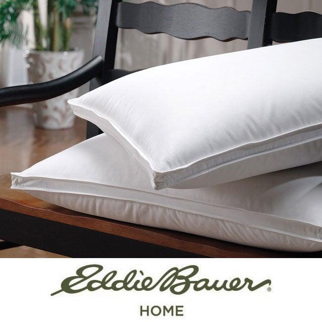 Eddie Bauer 350 Thread Count Jumbo-size White Goose Down Pillow