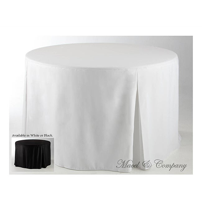 Eva Basic 72-inch Round Fitted Tablecloth