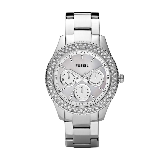 Fossil Women's 'Stella' Multifunction White Dial Watch