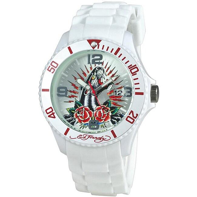 Ed Hardy Women's Panther Rose Matterhorn Watch