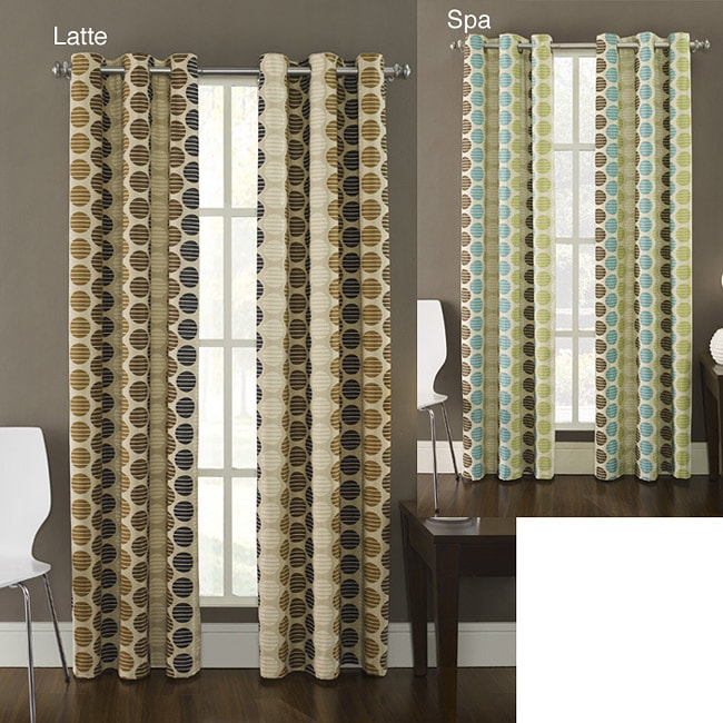 Contemporary 95-inch Highlife Curtain Panel