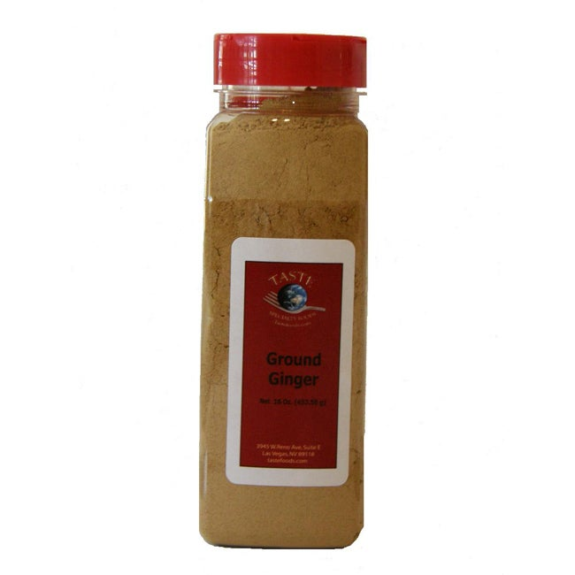 Taste Specialty Foods 16-oz Ground Ginger (Pack of 4)