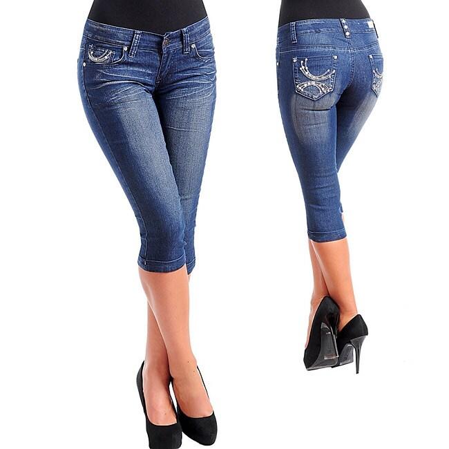 Из джинс бриджи