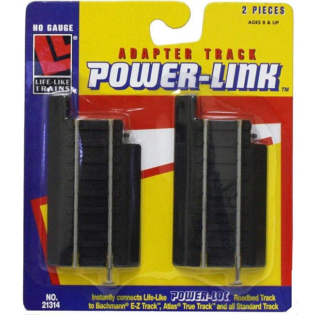 Walther Lifelike HO Scale Power Link Adapter Tracks