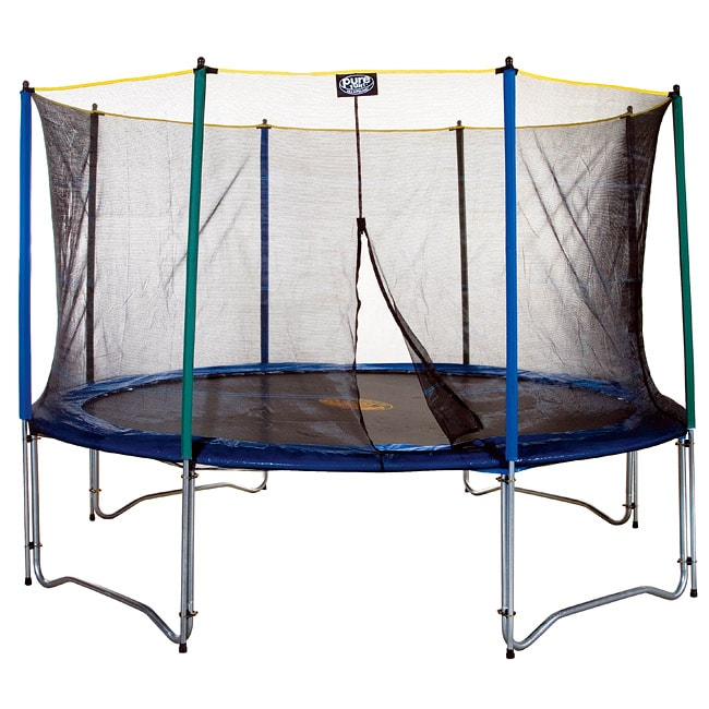 Sports and Toys by O Pure Fun 12-foot Trampoline and Enclosure Set at Sears.com