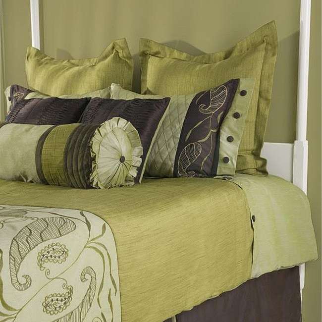 Rizzy Home Amazon King-size 10-piece Duvet Cover Set with Insert