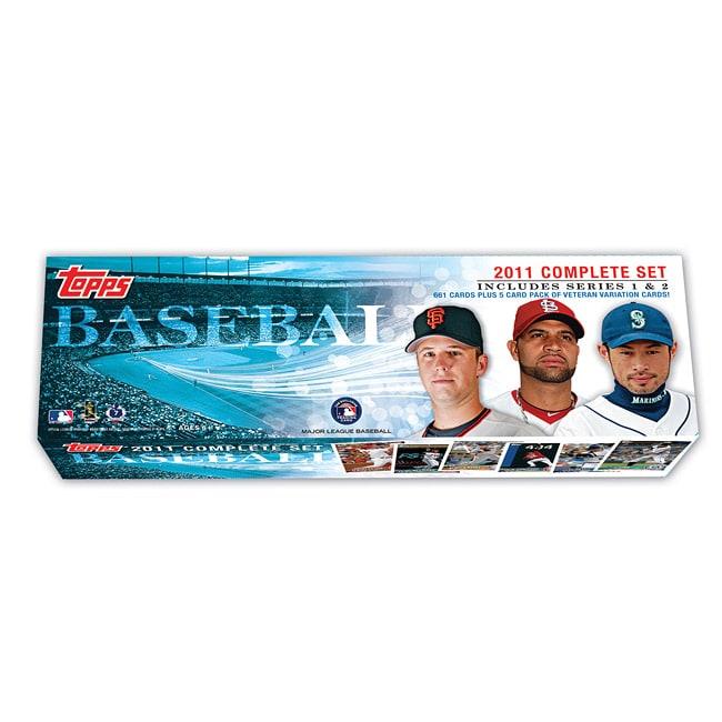 2011 Topps Baseball Trading Card Complete Box Set