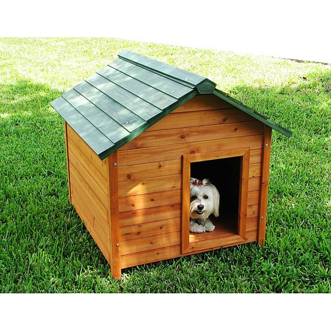 Crown Pet Products Large Classic Cedar Pet House