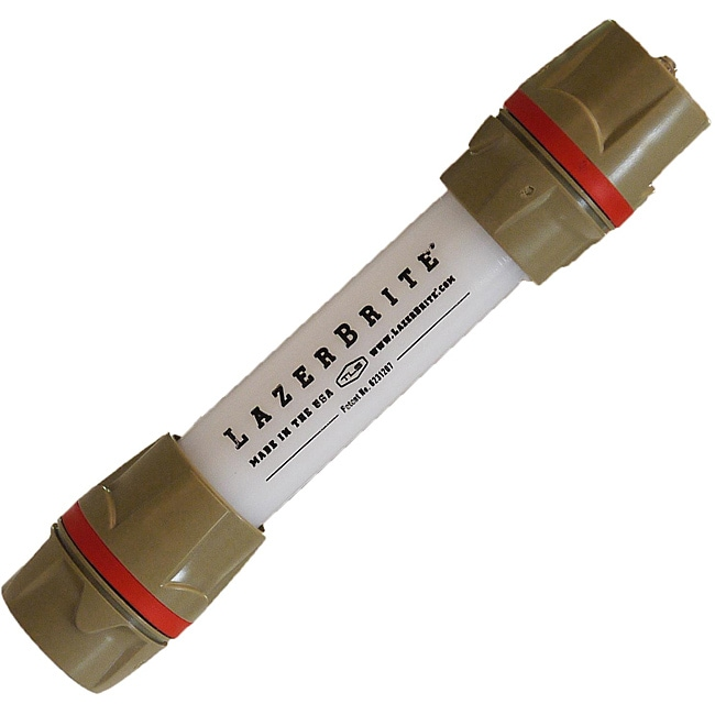 Lazerbrite Single Mode Red and Red Flashlight