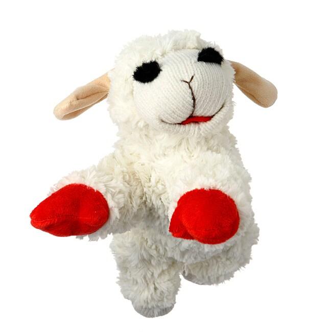 Lamb Chop 10-inch Plush Dog Toy
