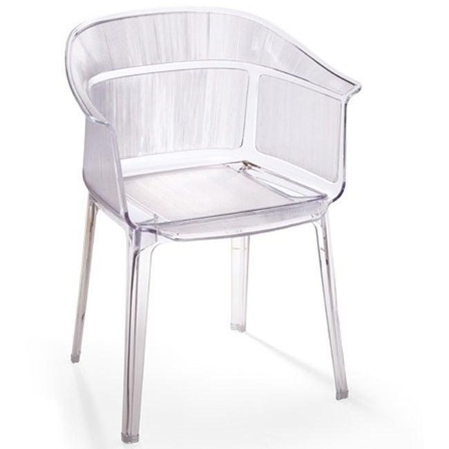 Verona Transparent Dining Chairs (Set of 4)