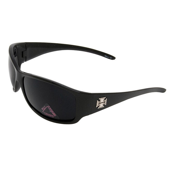 Men's Onyx Black Plastic Choppers Sunglasses