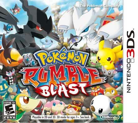 NinDS 3DS - Pokemon Rumble Blast