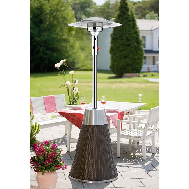 Enders Rattan Steel Patio Heater
