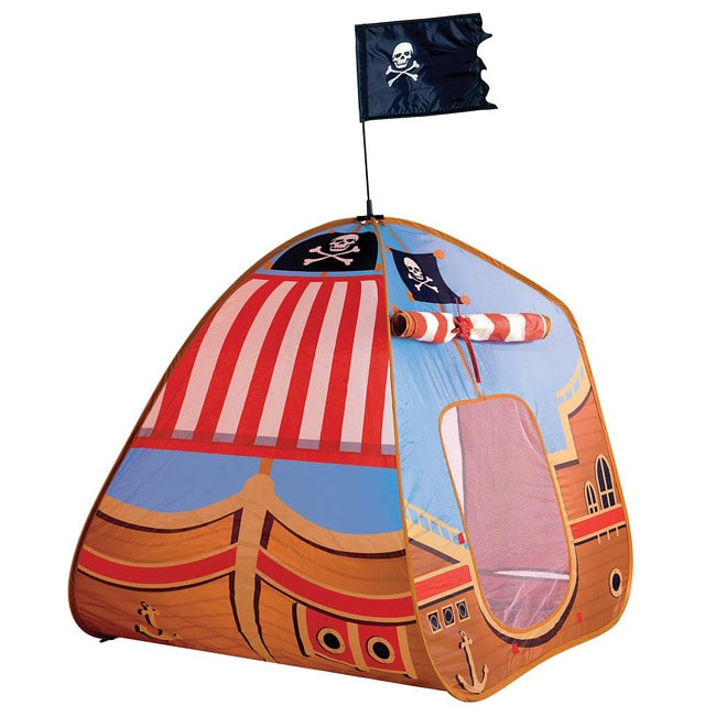 Schylling Pirate Pop-up Ship Play Tent