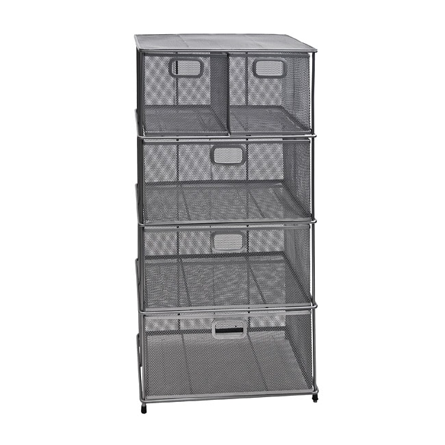 Mesh storage--no more digging through drawers!