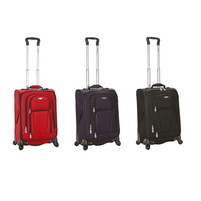 Rockland 20-inch Spinner Multidirectional Upright Carry-on Luggage