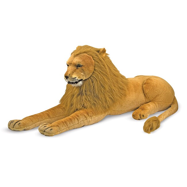 Melissa & Doug Plush Lion