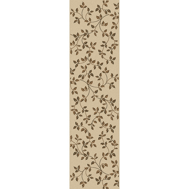 Virginia Ivory Area Rug Runner (2'2 x 7'7)