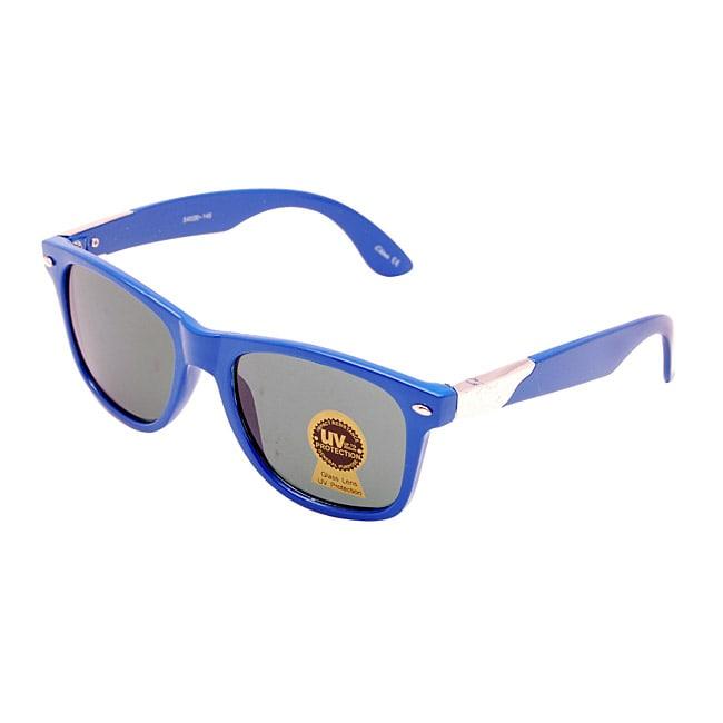 Unisex Beach Blue Fashion Sunglasses