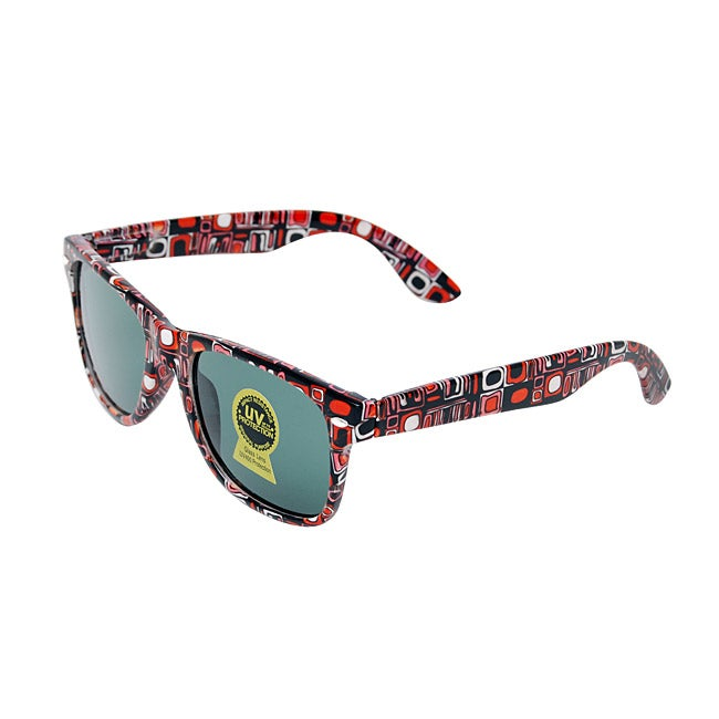 Unisex Red Cell Fashion Sunglasses
