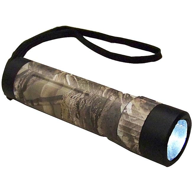 Coleman Realtree Camo Multi-color LED Flashlight