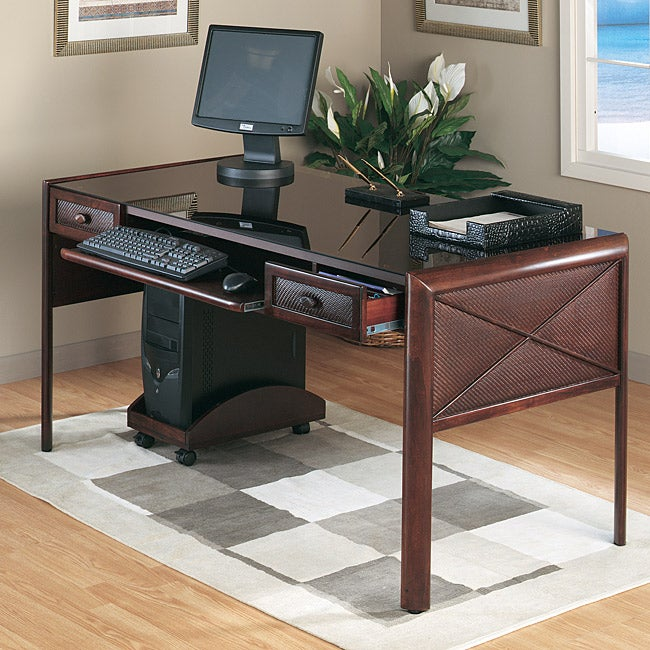Del Mar 60 Inch Computer Desk Overstock Shopping