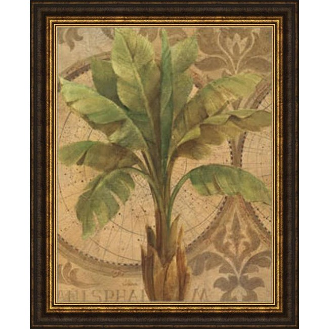 Albena Hristova 'Decorative Palm I' Framed Print Art