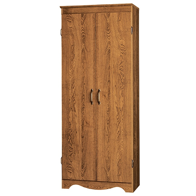 Talon Multipurpose Two Door Scalloped Base Storage Cabinet