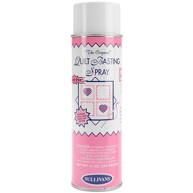 Sullivans Acid-free Fabric Quilt Basting Spray (13-ounce Aerosol)