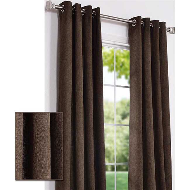 Lined grommet curtains