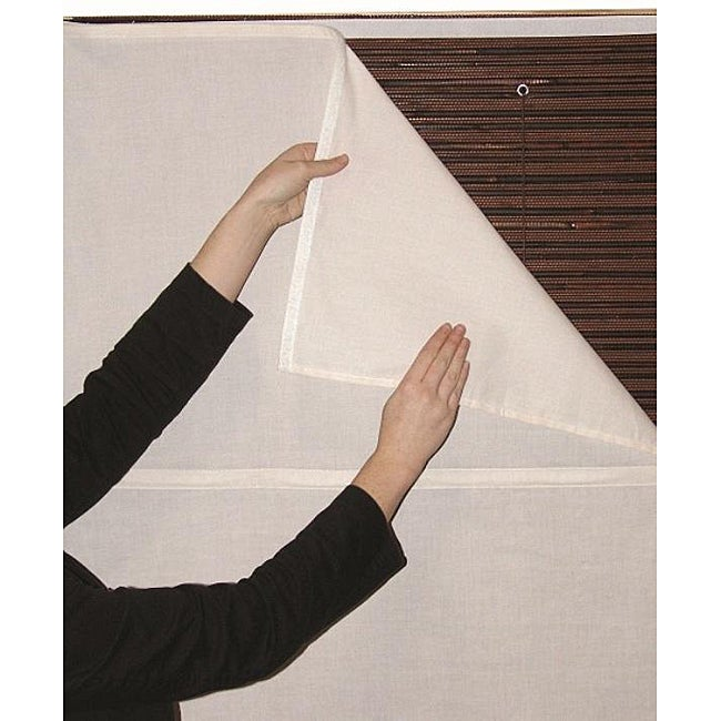 White Privacy Liner (39 in. x 72 in.)
