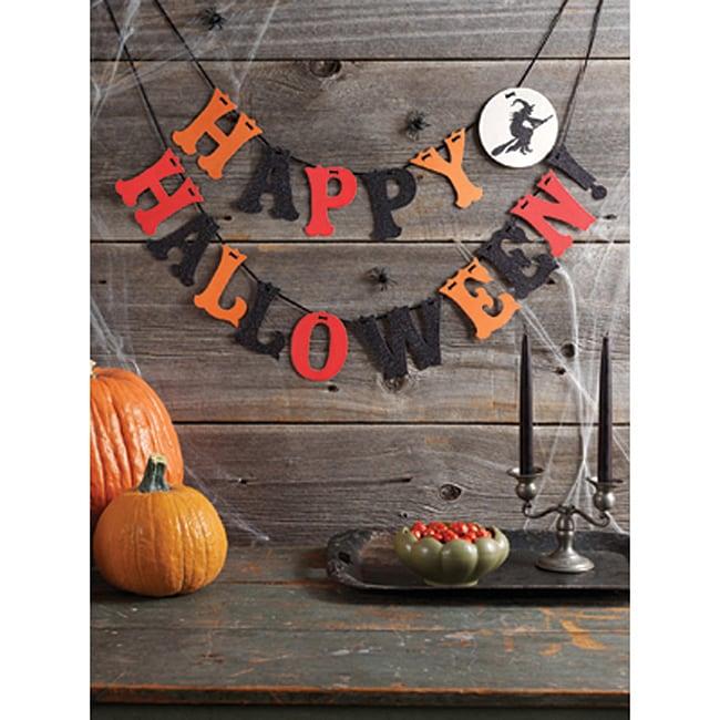 Martha Stewart Halloween Witch Garland