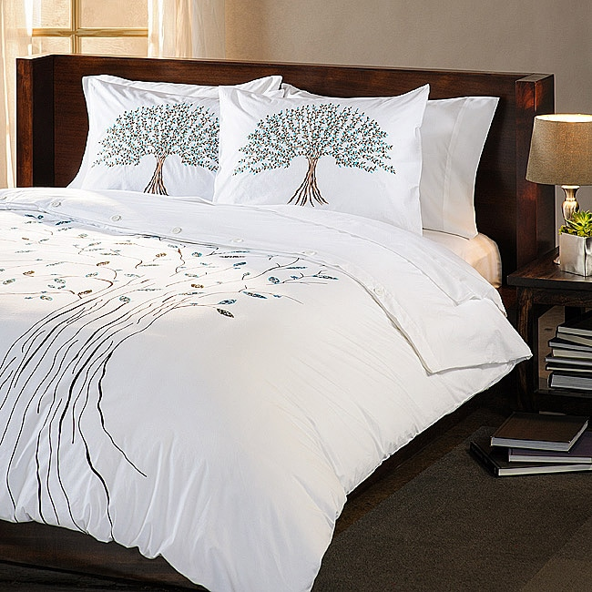 Tree of Life King-size 3-piece Duvet Cover Set (India)