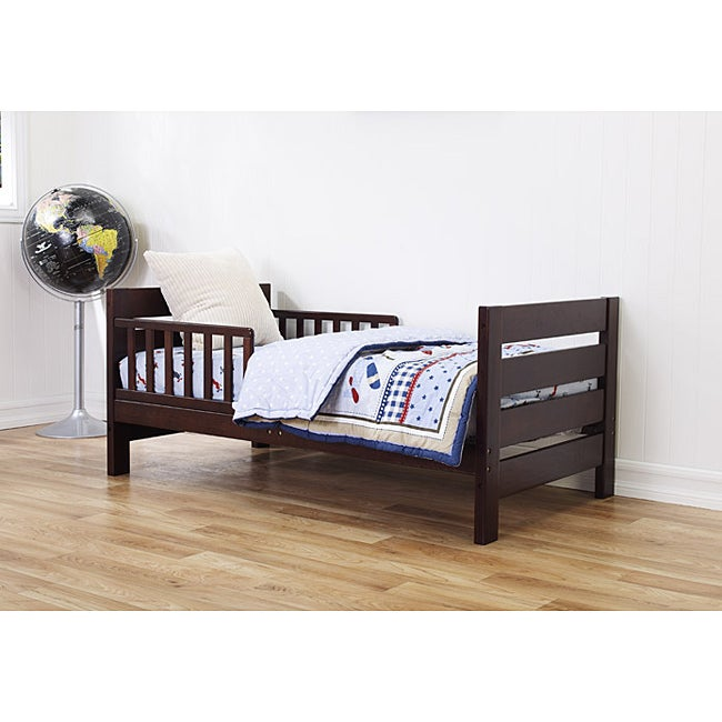 AT HOME by O DaVinci Modena Toddler Bed in Espresso at Sears.com