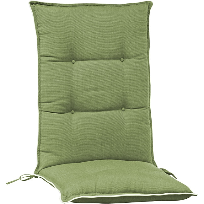 Overstock.com High Back Patio Chair Cushion (Set of 2) at Sears.com