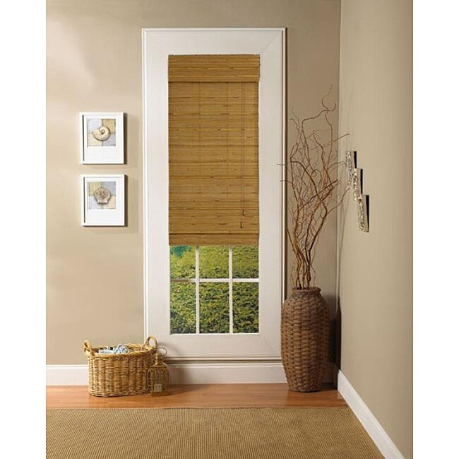 Taos Natural Roman Shade (23 in. x 72 in.)