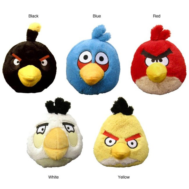 Angry Birds Toys With Sound : Angry birds plush toy with sound  overstock