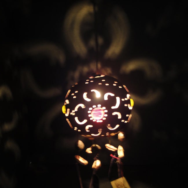 Jellyfish Flower Petals Hanging Lamp (Mexico)