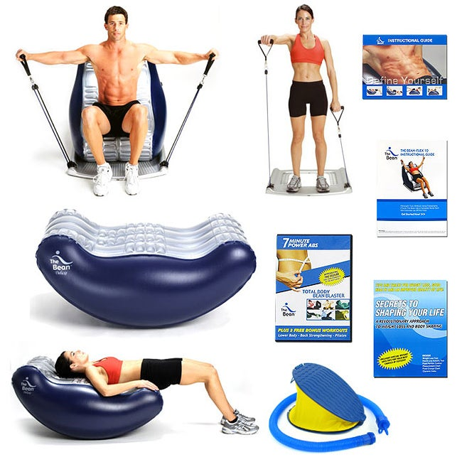 The Bean Deluxe and Flex 10 The Ultimate Exerciser Set