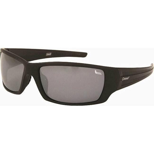 Coleman Men's CC1 Matte Black Polarized Sunglasses