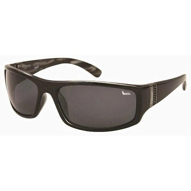 Coleman Men's CC1 Black Polarized Sunglasses