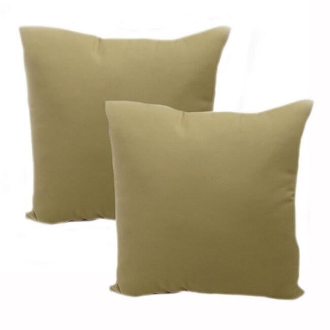 Heritage Pebble Throw Pillows (Set of 2)