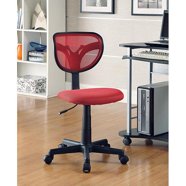 Red Kids Desk Chair