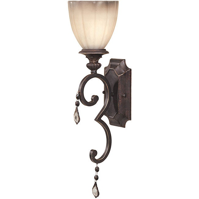 World Imports Avila Collection Single Light Wall Sconce