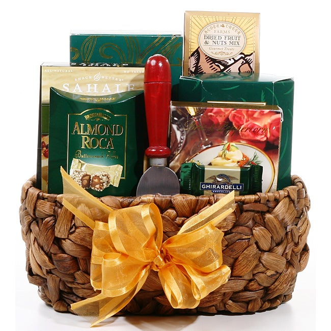 Gourmet Indulgence Handmade Gift Basket