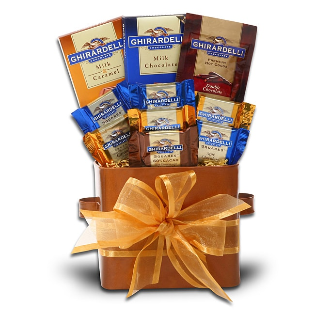 Alder Creek A Taste Of Gift Box with Hot Chocolate and Chocolate Bars