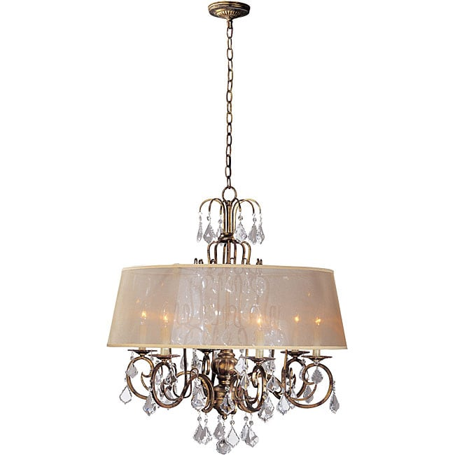 World Imports Belle Marie Collection 6-light Hanging Chandelier at Sears.com