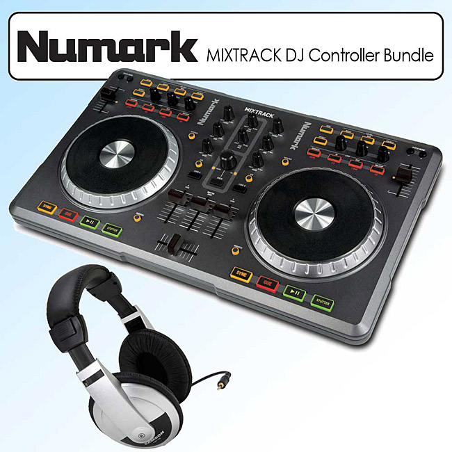 Numark Mixtrack USB DJ Controller with Traktor Kit